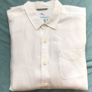 Never worn linen Tommy Bahama long sleeve